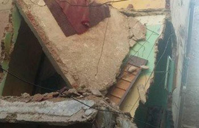 انهيار 3 منازل بقرية شندويل البلد فى المراغة سوهاج دون خسائر بالأرواح