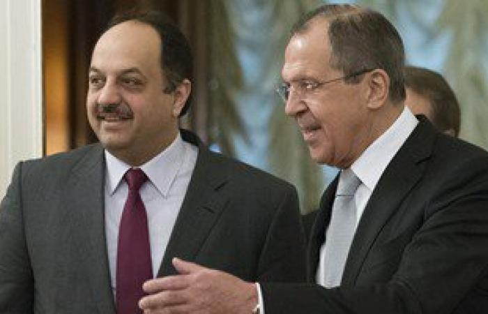 سيرجى لافروف: خلاف روسيا وقطر الرئيسى يتعلق بشرعية الرئيس الأسد