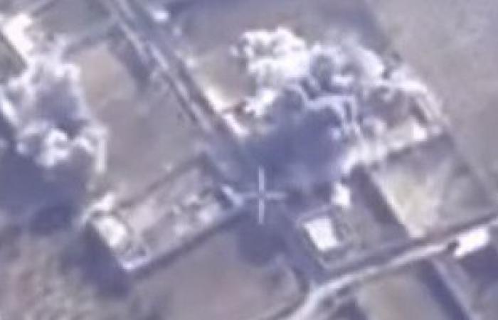بالفيديو.الجيش السورى يبث فيديو لحظة استهداف قائد جيش الاسلام