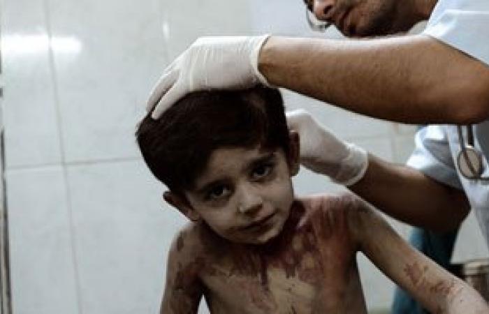 وصول طفل مصاب بشظايا لمستشفى العريش بشمال سيناء
