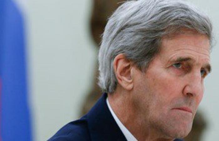 جون كيرى فى الرياض لبحث الملفين السورى والإيرانى