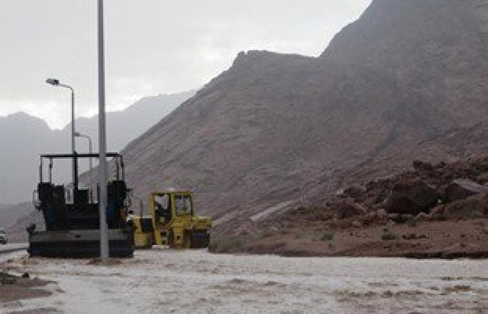 طقس غير مستقر فى جنوب سيناء وانتظام حركة الملاحة بالموانئ