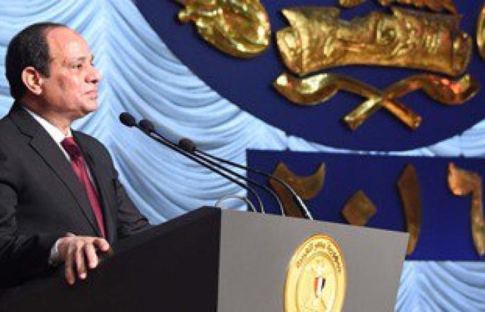 بالفيديو والصور.. نص كلمة الرئيس السيسى فى الاحتفال بعيد الشرطة