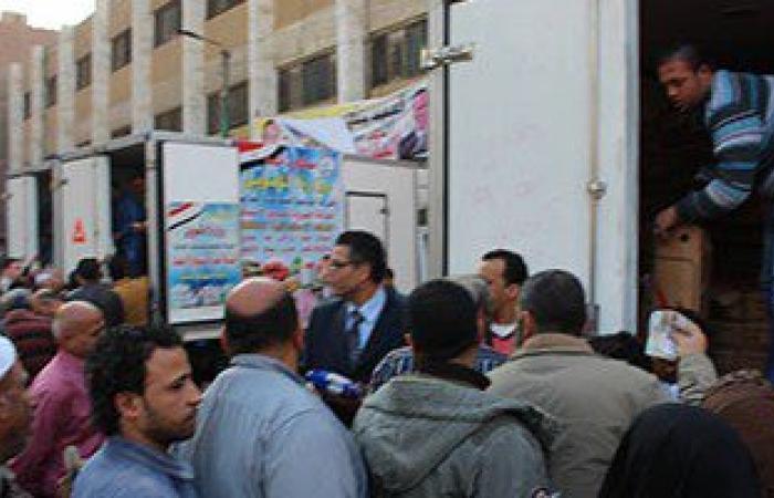 """إطلاق قوافل السيارات المحملة بـ""""أوراك"""" الدواجن بالجيزة والإسكندرية"""