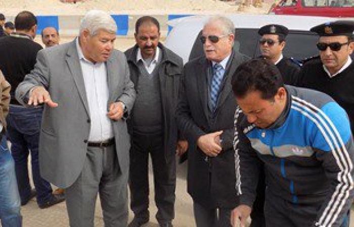 محافظ جنوب سيناء يتفقد إنشاءات مدينة الطور