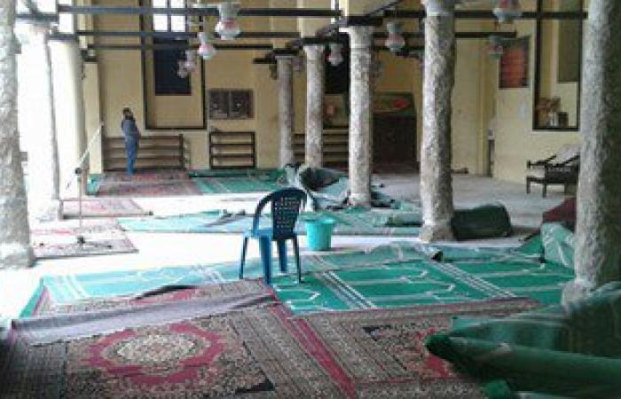 """بالصور.. إهمال بمسجد """"سيدى عبداللاه"""" فى كفر الشيخ ومخاوف من سقوطه"""
