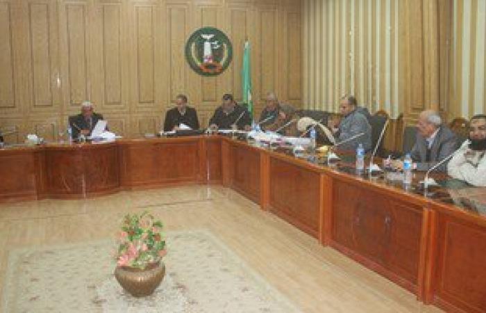 محافظة المنوفية تناقش تحسين الخدمة المروية