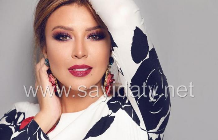 """أمل بشوشة:لا تنافسني أي ممثلة لبنانية وهكذا يراضيني زوجي عندما """"أزعل"""" منه"""