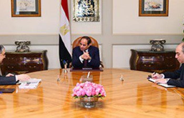 محمد شاكر  للرئيس: أعمال الصيانة الدورية لمحطات الكهرباء وصلت إلى 100%