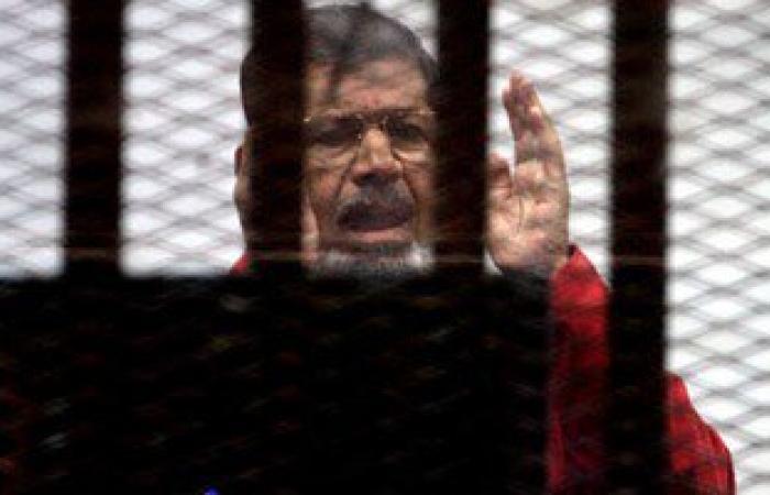 """تأجيل محاكمة """"مرسى"""" و10 آخرين بقضية التخابر مع قطر للغد"""