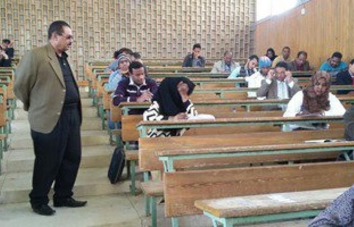 طلاب التعليم المفتوح بجامعة أسوان يشكون من طول أسئلة الامتحانات