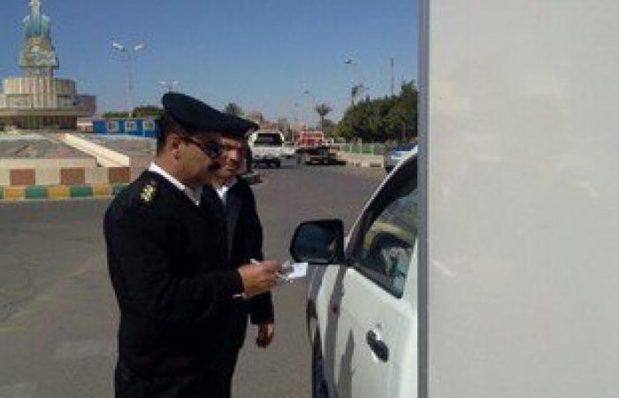 تحرير 1007 مخالفات خلال حملة مرورية بالإسماعيلية