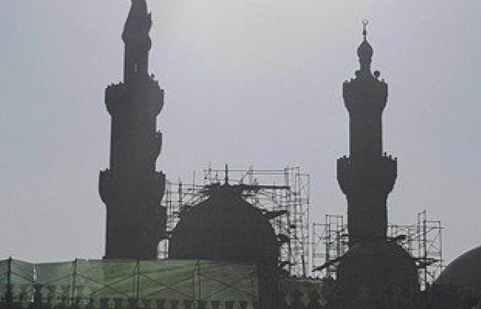 بالصور.. انتهاء أعمال ترميم الجامع الأزهر منتصف 2017