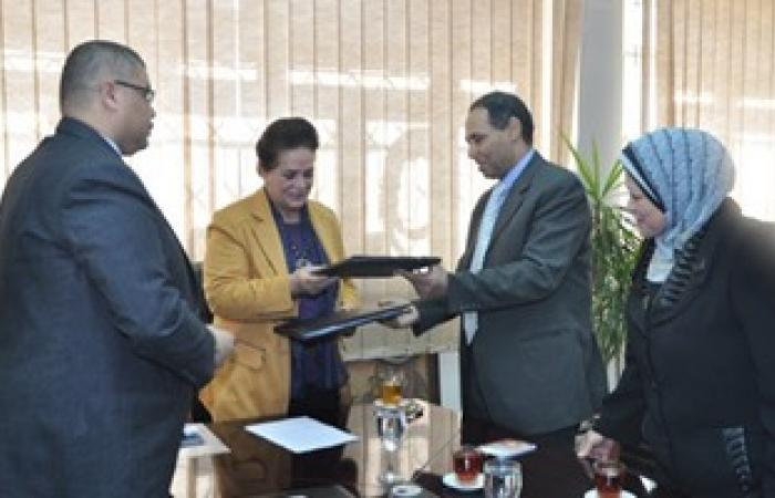 توقيع بروتوكول تعاون بين مكتبة دمنهور والتربية والتعليم فى البحيرة