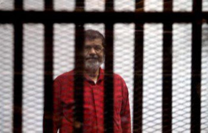 """اليوم.. استئناف محاكمة """"مرسى"""" و10 أخرين بالتخابر مع قطر"""