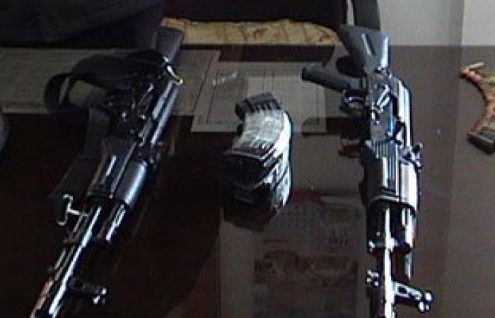القبض على رقيب شرطة بحوزته رشاش برتا بقصد الاتجار فى سوهاج