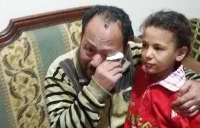 أب ينجح فى استعادة ابنته فى طنطا بعد 5 أيام من هروبها بسبب بطش والدتها