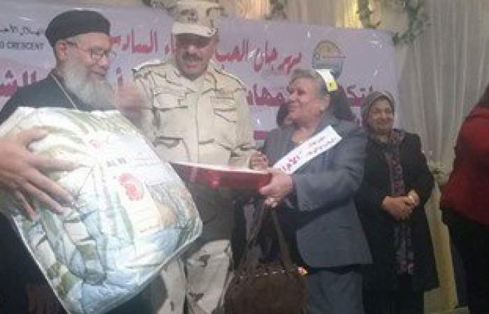بالصور.. جمعية الهلال الأحمر بالسويس تكرم 60 أما مثالية