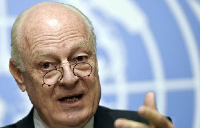"""""""دى ميستورا"""" يطالب بضرورة البدء بمناقشة الانتقال السياسى فى سوريا"""