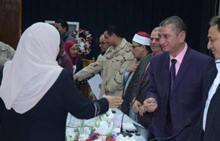 بالصور.. وكيل وزارة الأوقاف بكفرالشيخ: لن ننسى أمهات الشهداء