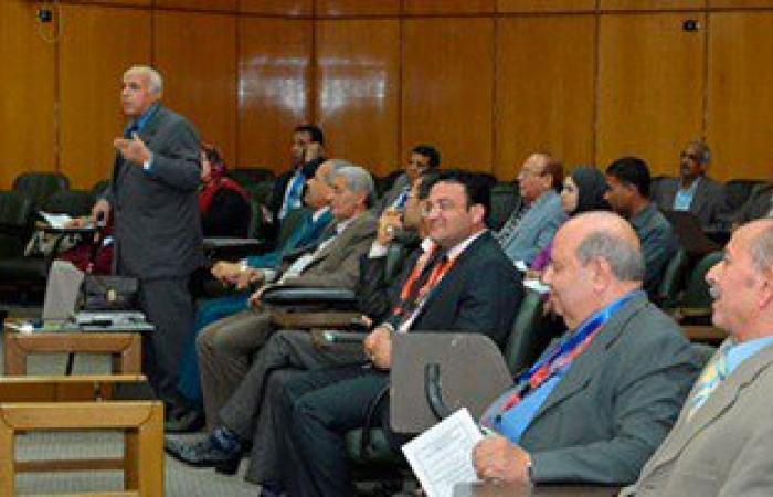بالصور.. انعقاد المؤتمر الدولى الثامن للتنمية والبيئة بجامعة أسيوط