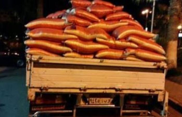 القبض على تاجر غلال لحيازته 10 أطنان أرز بقصد الاحتكار بدمياط