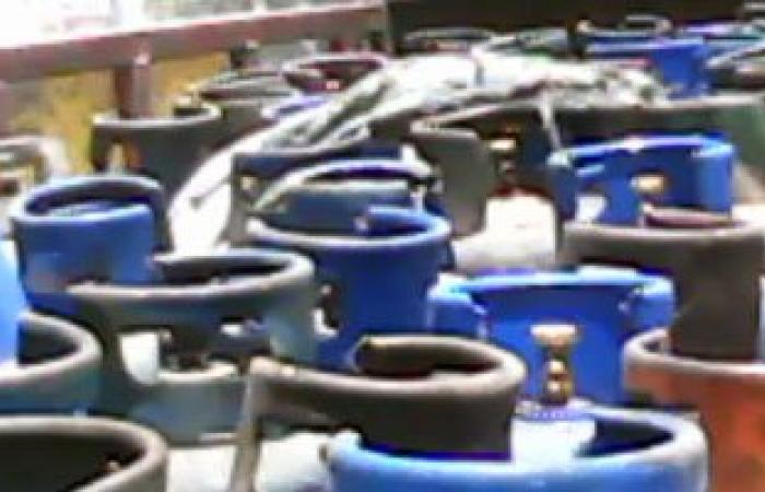 ضبط سيارة نقل محملة بـ 60 أسطوانة غاز قبل بيعها فى السوق السوداء بطنطا