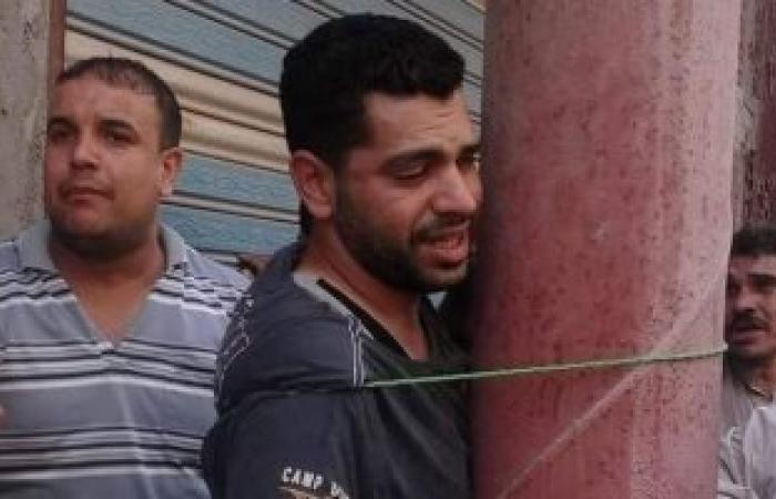 حبس لص قيده الأهالى بعامود إنارة بعد سرقته دراجة نارية من منزل بالشرقية