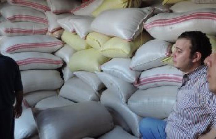 القبض على 6 تجار حجبوا 385 طن أرز  عن التداول بالأسواق في البحيرة