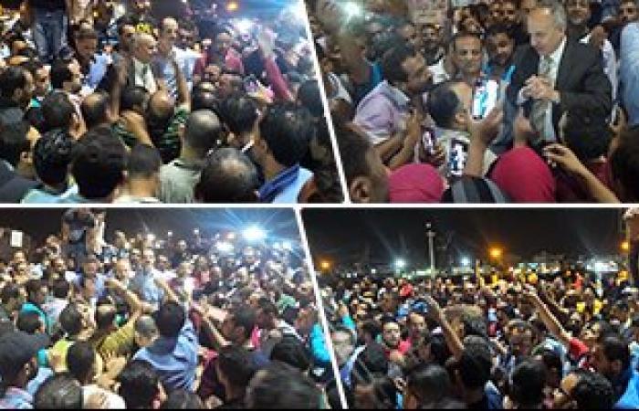 النيابة تحقق مع 19 من متظاهرى إسكان بورسعيد بتهمة التجمهر وقطع الطريق