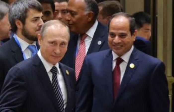 """""""العرب اللندنية"""": لقاء قريب بين الرئيس السيسي و""""بوتين"""""""