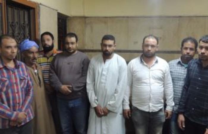 القبض على 8 أشخاص أثناء تنقيبهم عن الآثار بمنشأة ناصر