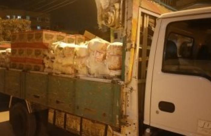 ضبط 26.5 طن أرز شعير و750 كيلو سكر بحملة تموينية بزفتى فى الغربية