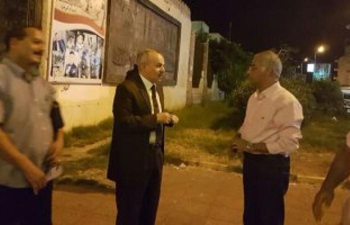 """""""هندسة بورسعيد"""" تقترح حلولاً لأزمة المرور بحضور مدير الأمن"""