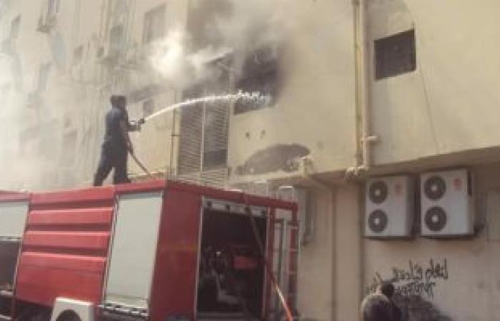 السيطرة على حريق داخل معمل العلوم بمعهد أزهرى بسوهاج دون حدوث إصابات