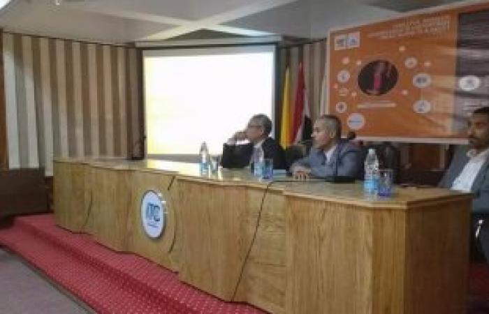 """"""" أكتوبر وتكنولوجيا الشباب"""" ندوة علمية لطلاب جامعة المنيا"""