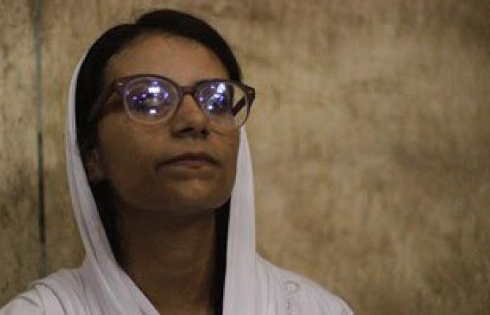 """حضور الناشطة ماهينور المصرى جلسة محاكمة متهمى """"اغتيال النائب العام"""""""