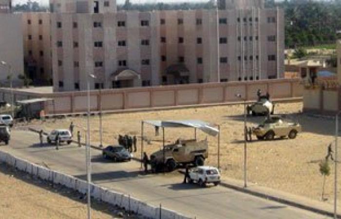 حبس 4 أمناء شرطة جدد 4أيام بواقعة هروب سجناء سجن المستقبل بالإسماعيلية