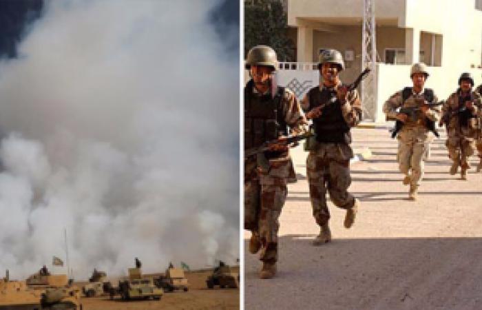 """الجيش العراقى يحرر ناحية""""النمرود"""" الأثرية بالكامل من قبضة داعش"""