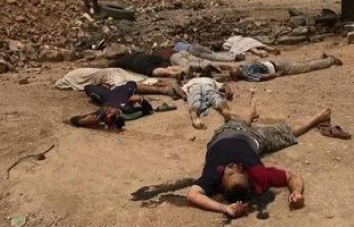 داعش يقتل 12 من مقاتلى العشائر السنية وعناصر الشرطة جنوبى الموصل