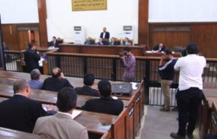 تأجيل محاكمة 19 متهما بإثارة الشغب والتظاهر بمنطقة وسط البلد لـ26 نوفمبر