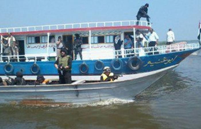 أمن القليوبية يضبط مركب نهرى لنقل الركاب بدون ترخيص