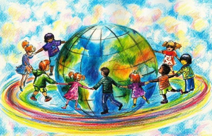 رسائل أطفال إلى العالم في يوم الطفل العالمي