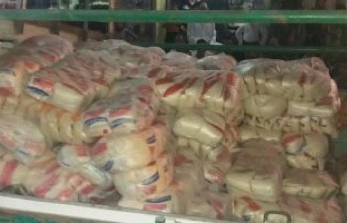 """""""التموين"""" تضبط بقالاً استولى على 7 أطنان سكر وأرز لبيعها بالسوق السوداء"""