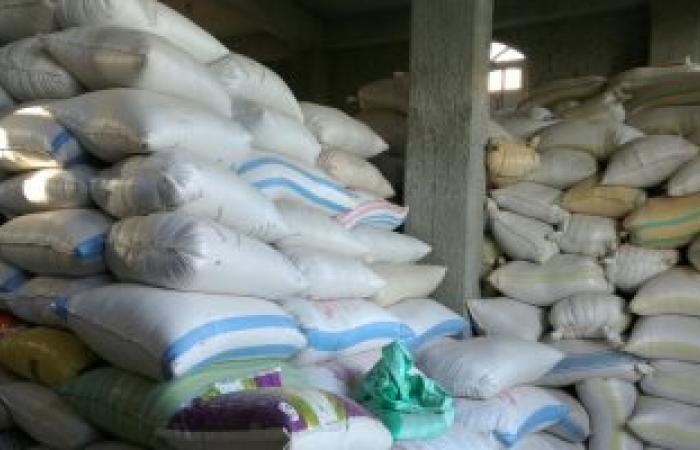 ضبط 5 أطنان أرز مجهولة المصدر داخل مخزن بدون ترخيص بالمنيا
