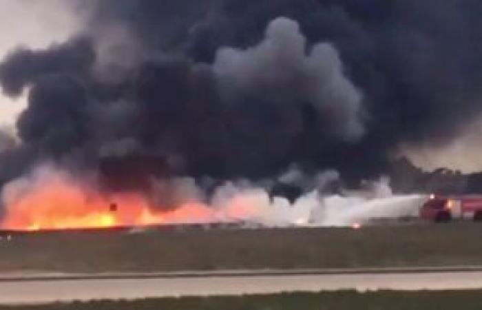 هيئة الطيران المدنى الكولومبى تؤكد تحطم طائرة تقل 81 شخصا