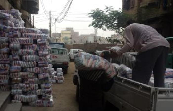 توزيع 50 طن سكر مدعم لبيعها بالقرى الأكثر احتياجا بمراكز الفيوم