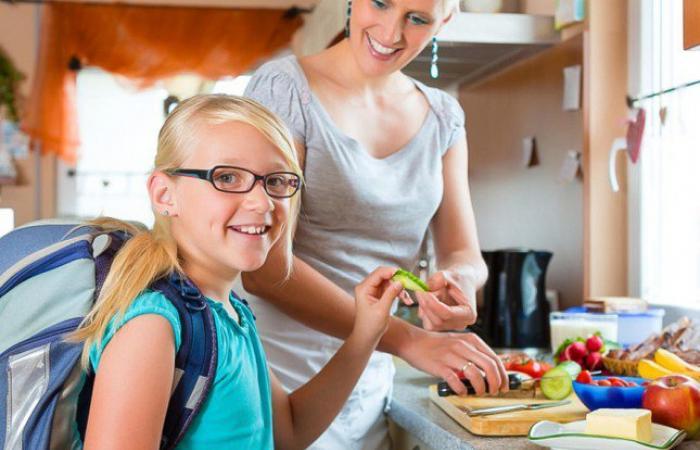 أفكار بسيطة لطريقة عمل إفطار صحي لطفلك