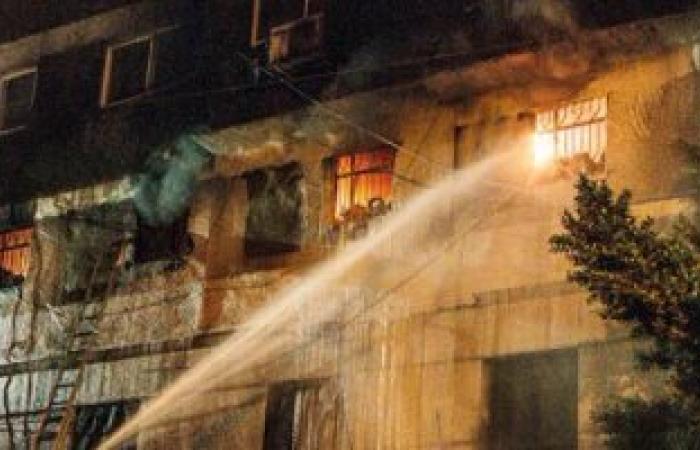 السيطرة على حريق هائل بمحل موبيليات بالبحيرة