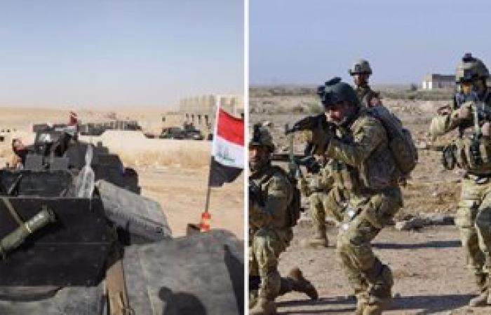 قوات الجيش العراقى تسعى لاستكمال الطوق الجنوبى على الموصل